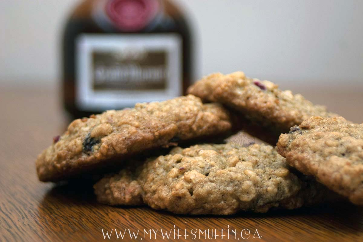 Loaded Oatmeal Raisin Cookies - My Wife's Muffin