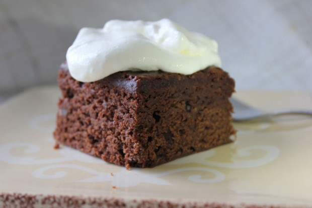 Brownie Cake via Bakersbeans