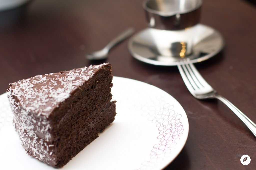 Zucchini Chocolate Cake via Our Fresh Kitchen