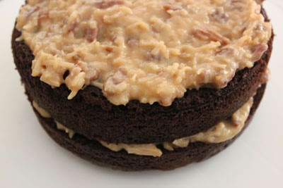 German Chocolate Cake via Food Mamma