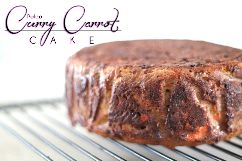 Paleo Curry Carrot Cake via The Primal Desire
