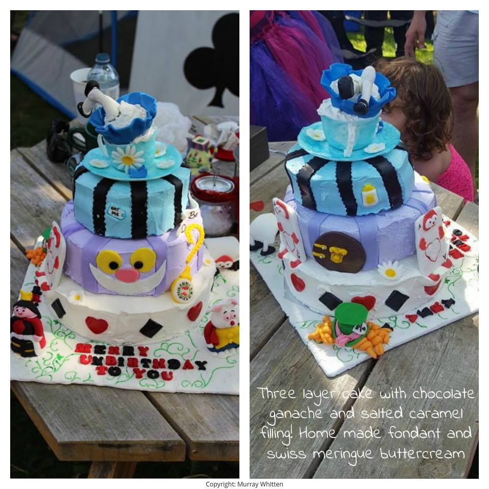 Unbirthday Wonderland Cake